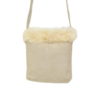 Fur Suede Bag