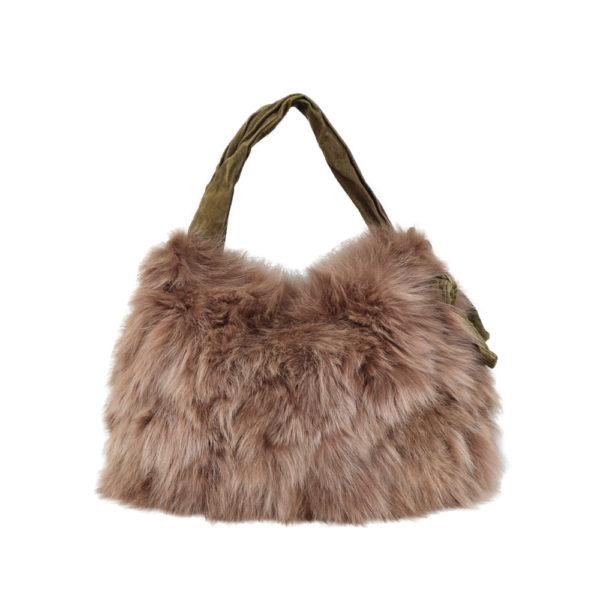Fox Fur Handbag