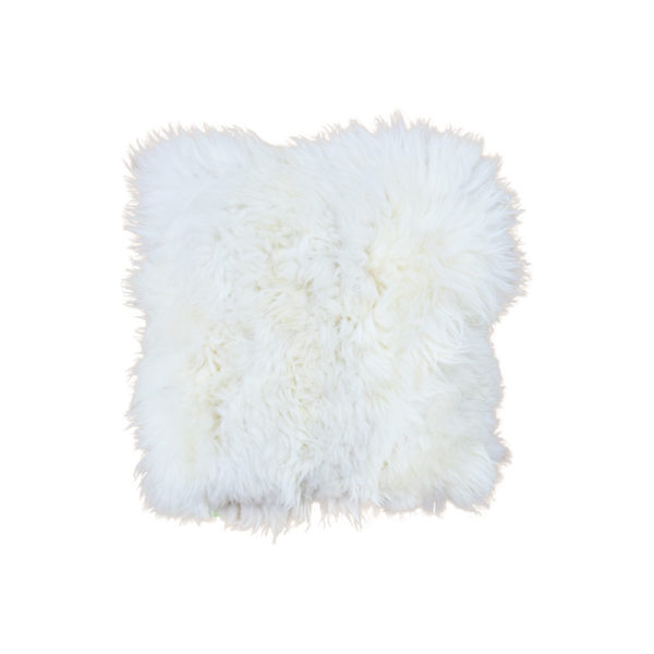 Alpaca Fur Pillow 18″