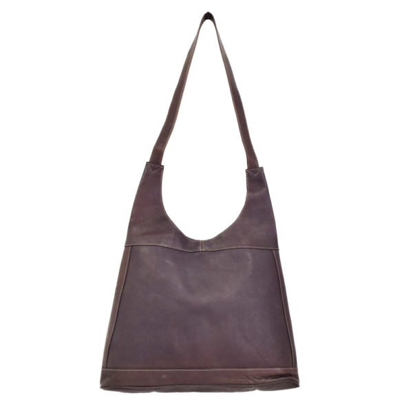 Leather Lady Bag (Brown)