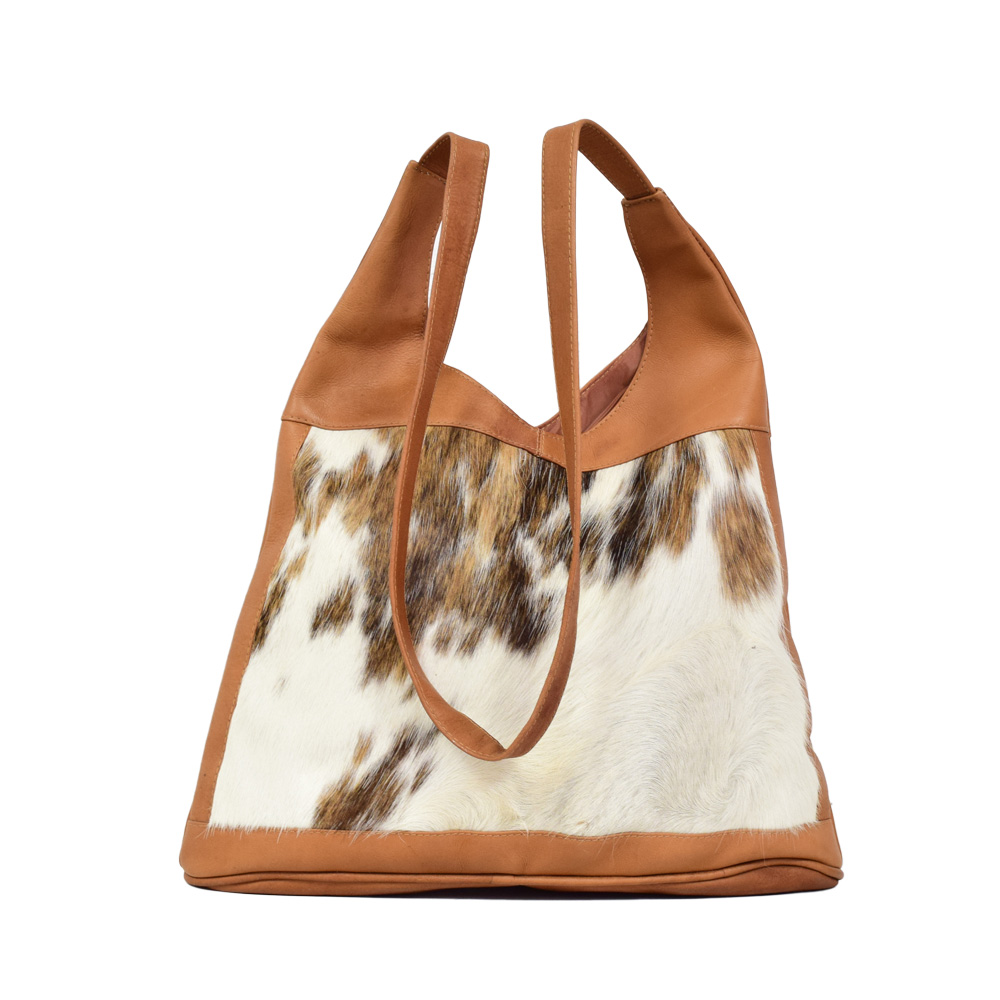 bad873c115d4 Leather   Cowhide Lady Bag - Art By God Mineral and Nature Novelty ...