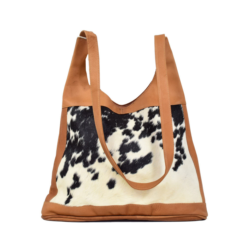 eb2a23cc17 Leather   Cowhide Lady Bag - Art By God Mineral and Nature Novelty ...