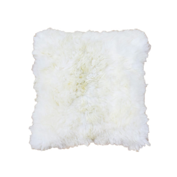Alpaca Fur Pillow 24″