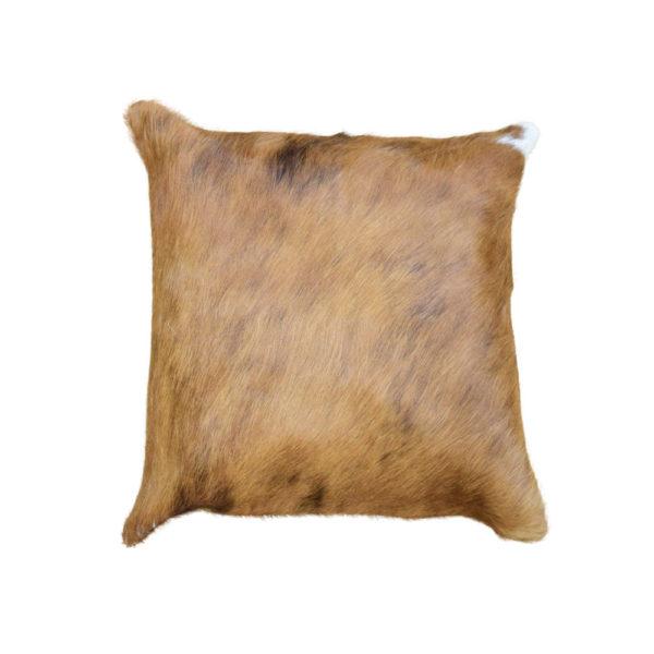 Brown Cowhide Pillow