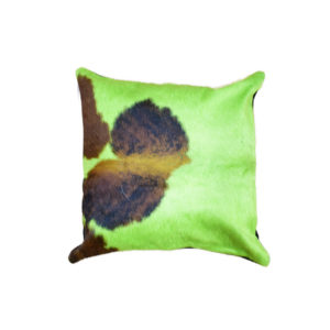 Dyed Green Cowhide