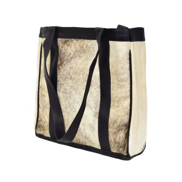 Cowhide Leather Tote Bag