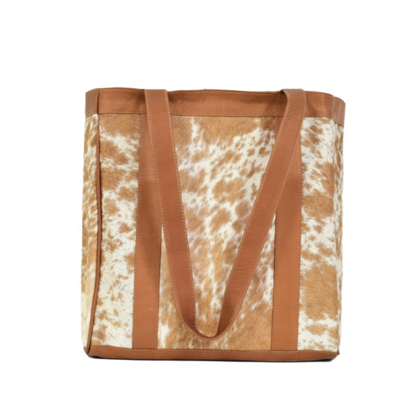 Cowhide Leather Tote Bag