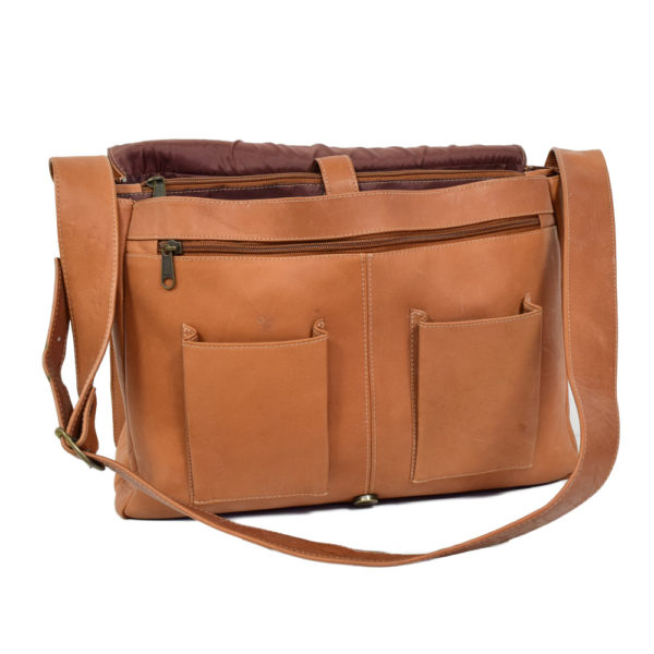 Leather Laptop Bag Unisex