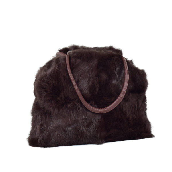 Rabbit Fur Handbag