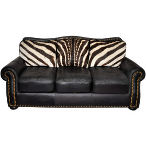 Zebra Accent Couch