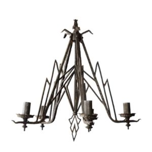 Solid Metal Chandelier