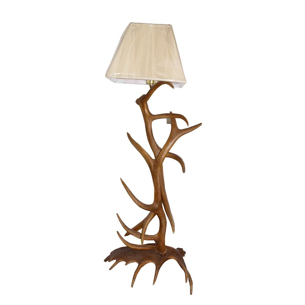 Floor Lamp - Elk Deer Antler - Art By God Mineral and Nature Novelty ...