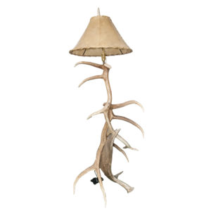 Elk and Moose Floor Lamp