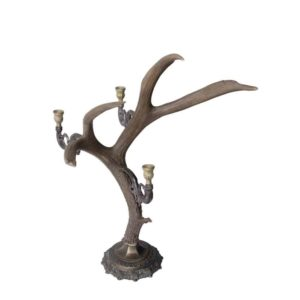 Deer Antler Candle holder