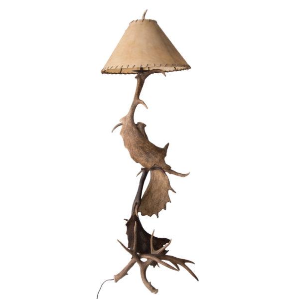 Moose Deer AntlerFloor Lamp