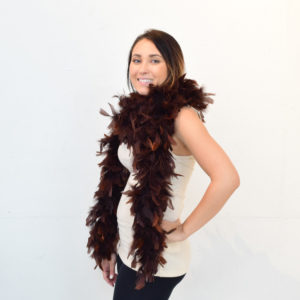 Feather Boa (Brown)