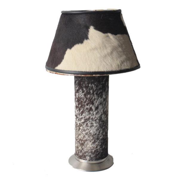 Genuine CowHide Table Lamp