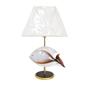 Ceramic Fish Table Lamp