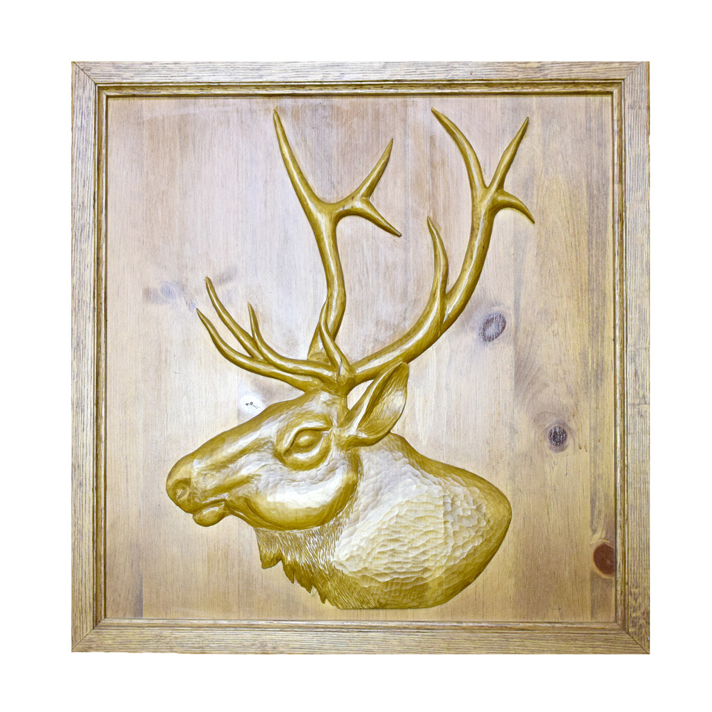 c93ebd9c89f Wood Relief-Elk - Art By God Mineral and Nature Novelty Gift Shop